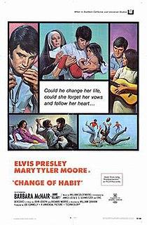 <i>Change of Habit</i> 1969 film by William A. Graham