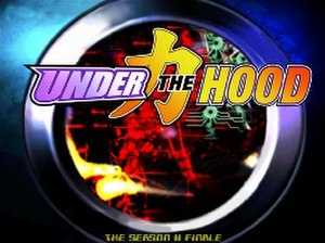 Under the Hood - Official logo, inspired by the opening screen of Mega Man X5