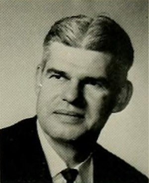 Clarence Stasavich - Stasavich pictured in The Buccaneer 1963, East Carolina yearbook