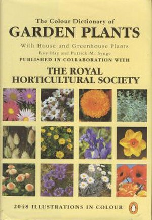 Roy Hay (horticulturist) - Image: Colour Garden Plants Book