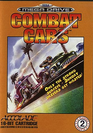 Combat Cars - European cover art