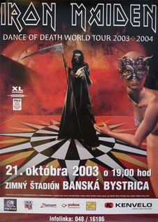 Dance of Death World Tour 2003–2004 concert tour by Iron Maiden