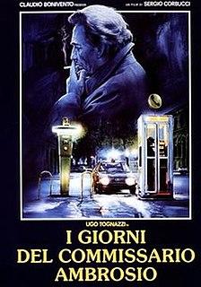 <i>Days of Inspector Ambrosio</i> 1988 film directed by Sergio Corbucci