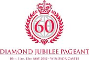 Logo of the Diamond Jubilee Pageant