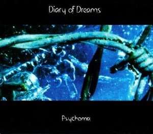 Psychoma? - Image: Diary of dreams Psychoma album cover