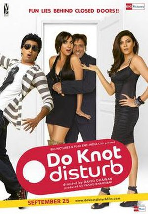 Do Knot Disturb - Theatrical release poster