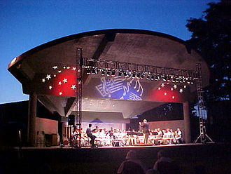 Cookeville, Tennessee - Dogwood Outdoor Performance Pavilion