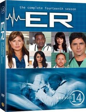 ER (season 14) - Image: ER Season 14 DVD Cover