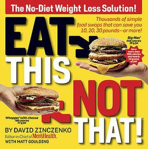 Eat This, Not That - First edition cover