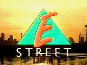 E Street - Image: E Street Title