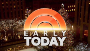 Early Today - Image: Early Today title card 2013