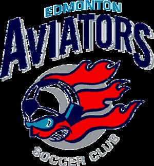 Edmonton Aviators - Image: Edmonton Aviators Logo