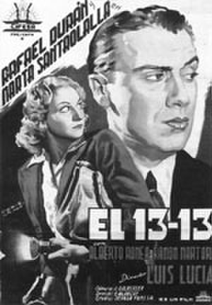 El 13 – 13 - Theatrical release poster