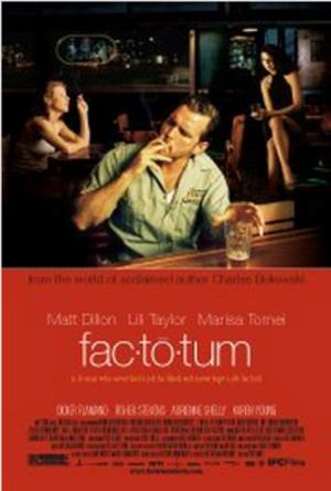 Factotum (film) - Image: Factotum 2005 poster
