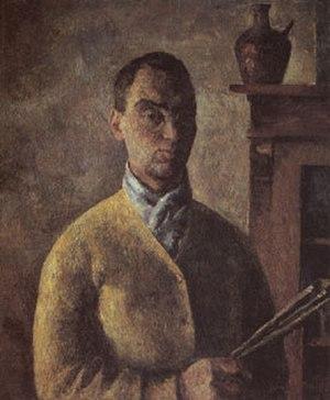 Robert Falk - Self portrait