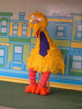 Big Bird - Big Bird as seen at Sesame Place.