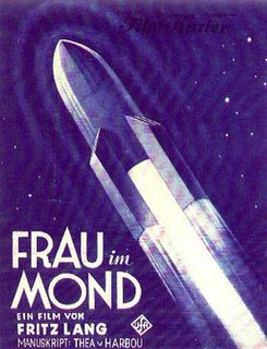 <i>Woman in the Moon</i> 1929 German science fiction film directed by Fritz Lang