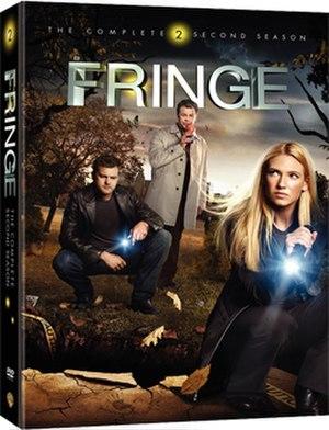 Fringe (season 2) - Region 1 DVD cover