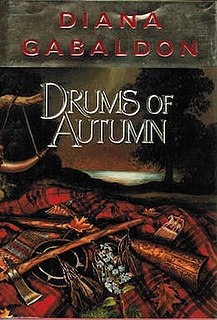 <i>Drums of Autumn</i> book by Diana Gabaldon