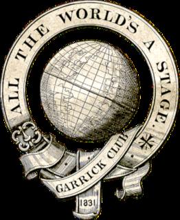 Garrick Club building; gentlemens club