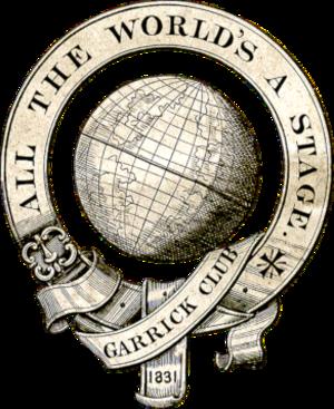 Garrick Club - Image: Garrick Club logo