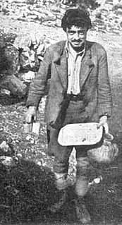 George Psychoundakis Greek resistance fighter and writer