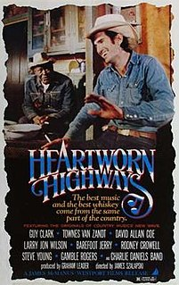 <i>Heartworn Highways</i> 1981 American film directed by James Szalapski