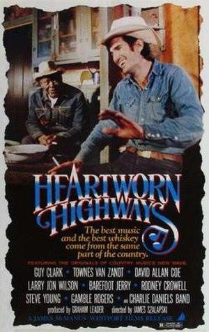 Heartworn Highways - Image: Heartworn Highways Film Poster