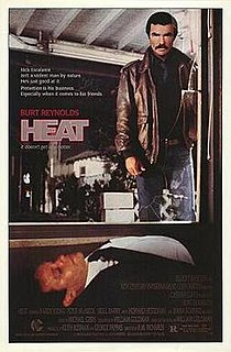 <i>Heat</i> (1986 film) 1987 film by Dick Richards, Jerry Jameson