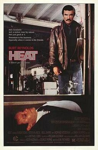 Heat (1986 film) - Theatrical release poster
