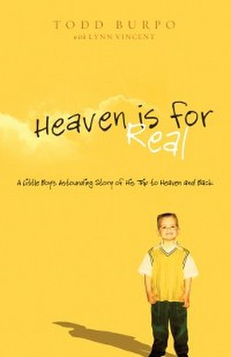 Heaven Is for Real - Image: Heaven Is for Real (Burpo book) cover