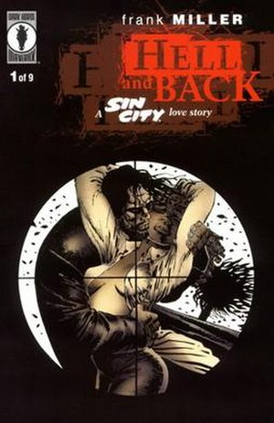 Hell and Back (comics) - Cover of the first issue