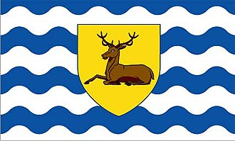 Historic counties of England - Image: Hertsflag