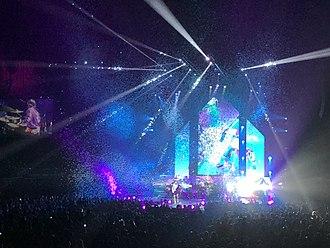 Imagine Dragons - Imagine Dragons performing in Sydney, Australia in May 2018.