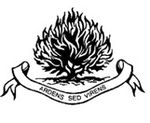 An Irish version of the Presbyterian burning bush logo, first used in 1583.