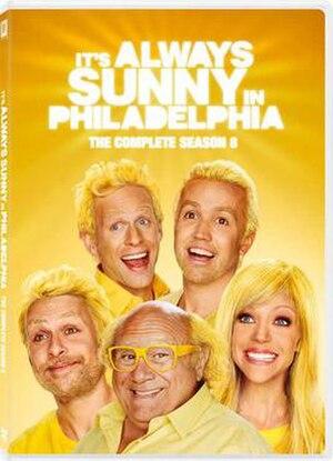 It's Always Sunny in Philadelphia (season 8) - DVD cover