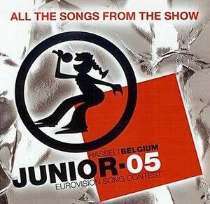 Junior Eurovision Song Contest 2005 - Image: JESC 2005 album cover