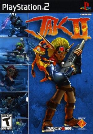 Jak II - North American PlayStation 2 box art