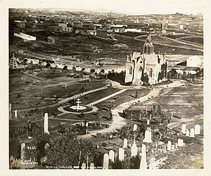 Mission Dolores Park - San Francisco Jewish Cemetery