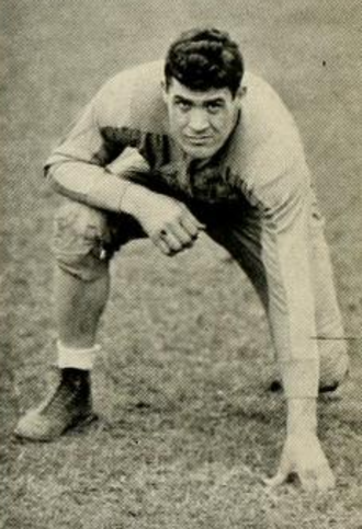 Joe Stydahar - Stydahar during his collegiate career at West Virginia.