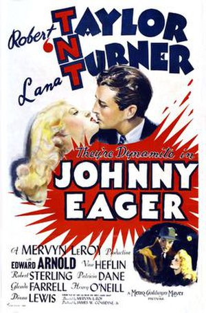 Johnny Eager - Theatrical release poster