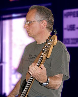 2010 Austin suicide attack - Joseph Stack playing bass guitar in The Billy Eli Band (2006).
