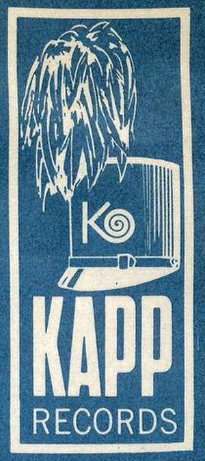 Kapp Records - Logo during most of the 1960s