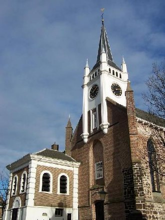 Ommen - The Reformed Church: the oldest surviving structure in Ommen