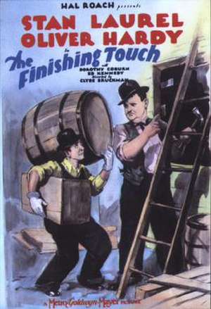 The Finishing Touch - Theatrical release poster