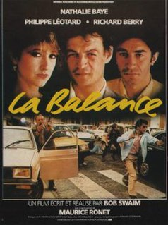 <i>La Balance</i> 1982 French film by Bob Swaim