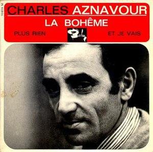 La Bohème (Charles Aznavour song) - Image: La boheme album cover