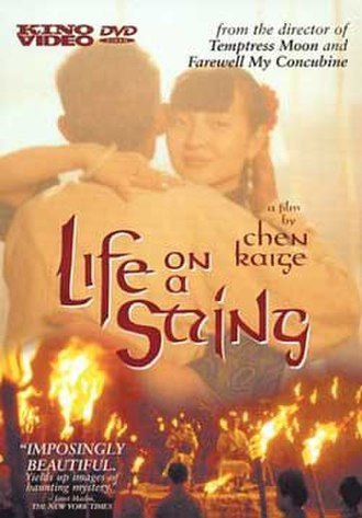 Life on a String (film) - DVD release cover