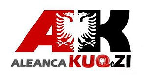 Red and Black Alliance - Image: Logo of Aleanca Kuq e Zi
