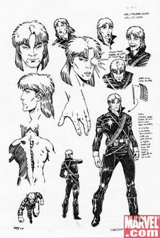 Longshot (Marvel Comics) - Image: Longshot Concept By Art Adams